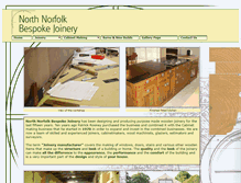 Tablet Preview of northnorfolkbespokejoinery.co.uk